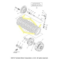 Yamaha Clutch Kit for 2009 to 2013 YFZ450R
