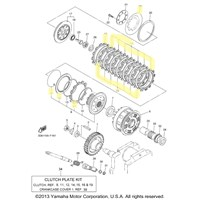 Yamaha Clutch Kit for 2007 to 2012 V-Star 1300