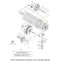 Yamaha Clutch Kit For 1998 to 2011 V-STAR 650