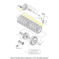 Yamaha Clutch Kit for 2009 to 2012 YZ250F
