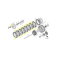 OEM Honda Clutch Kit for 2010 and 2011 CRF250R