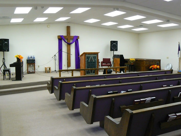 Front Of Church Sanctuary