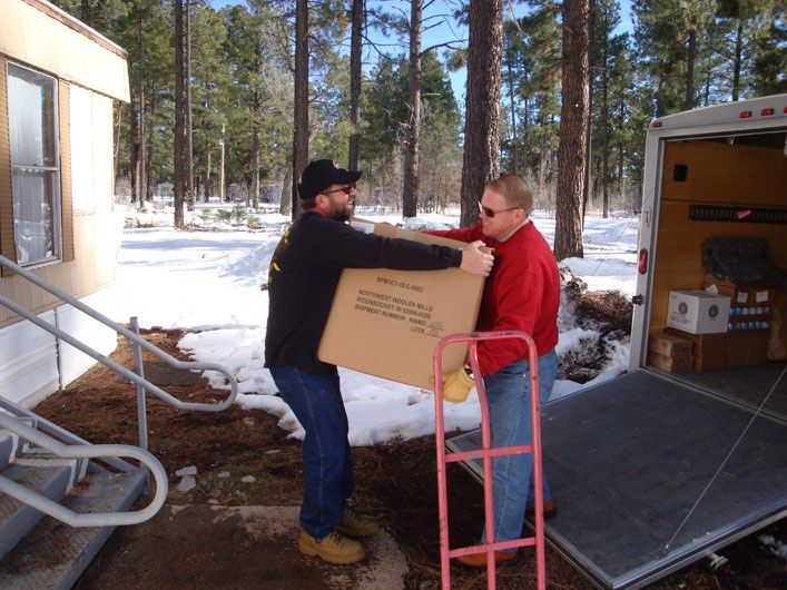 January 2011: Relief Supply Delivery