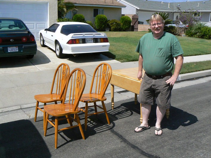 Marv Jones Refinished Table & Chairs
