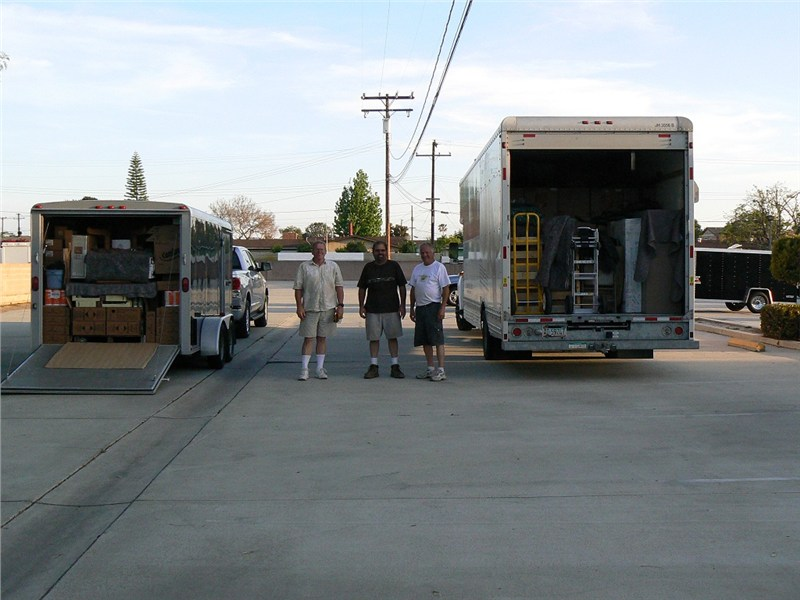 It took the team 11 hours to load 13,000 lbs. of supplies… tomorrow morning we depart for the reservations.