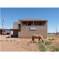 Our July adventure began at Pure Heart Bible Church on the Navajo Reservation in Kaibeto AZ