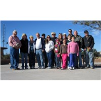 The 29:11 team with Rev. Don Daniels and Cheryl & Tony Darling at Eagle Heights in Holbrook AZ