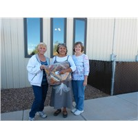 Carol and Pam with Mrs. Vick