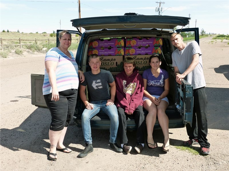 Sherri and her team from Holbrook's Operation Love