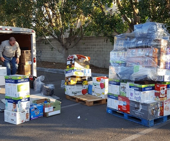 12/28/2017 Loading Trailer with household goods