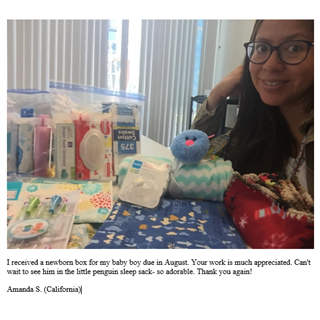 05/03/2018 Newborn Outreach Box Recipient
