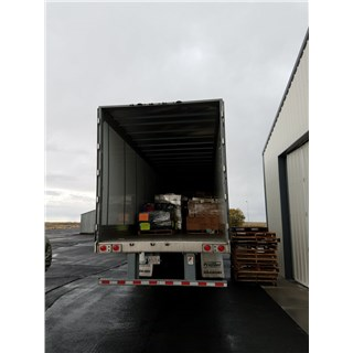 10/23/18 Second Semi Truck delivering items