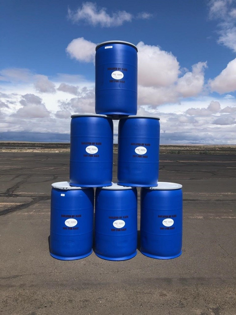 5/8/2019 - Water Barrels 55 Gallon