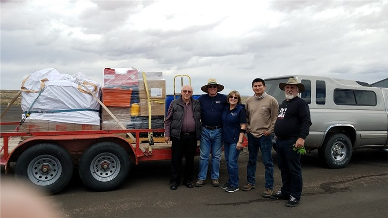 5/9/2019 - Bible Navajo Mission / Wildcat Christian Academy with Operation 29:11