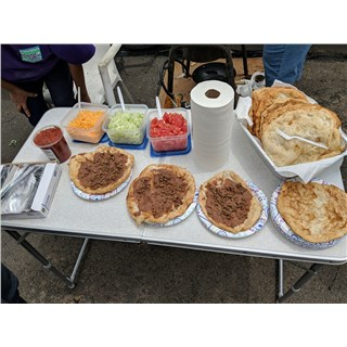 5/9/2019 - San Carlos The Feeding - Made Navajo tacos for the team