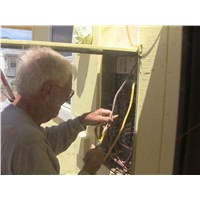 Bill found a project we didn't expect... an electrical system that needed serious attention