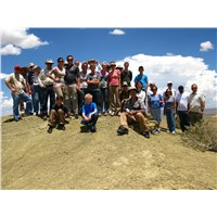 The California contingent atop Second Mesa... the end