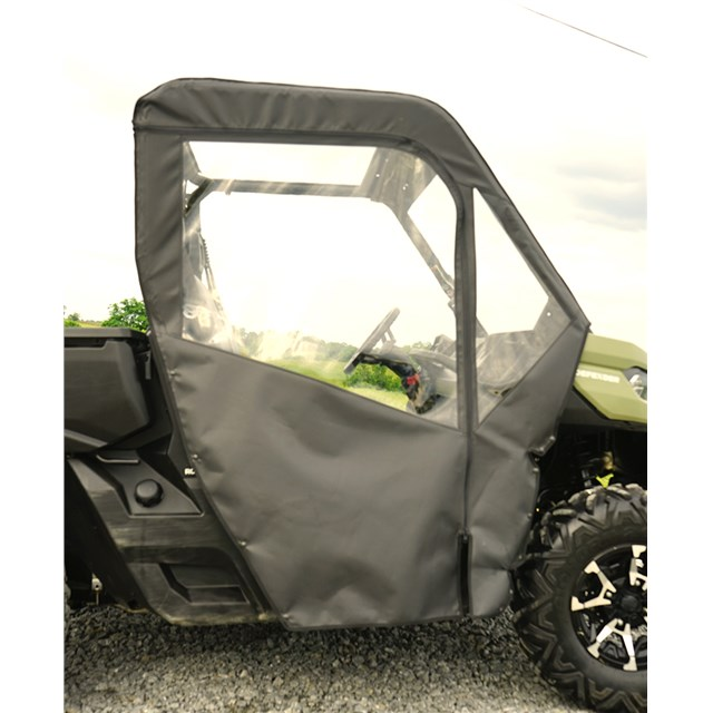Can-Am Defender Soft Door Rear Window Combo