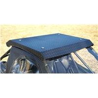 Arctic Cat Wildcat X Aluminum Diamond Plate Roof - Black