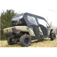CAN-AM COMMANDER MAX SOFT DOOR REAR WINDOW COMBO