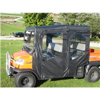 FULL CAB W/ FOLDING HARD WINDSHIELD