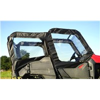 Honda Pioneer 700 4 Seat Front and Back Soft Door Kit with Middle/Rear Window