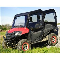 Honda Pioneer 700 4 Seat Full Cab with Aero-Vent Polycarbonate Windshield