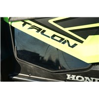 Honda Talon Tinted Polycarbonate Door Panel Inserts