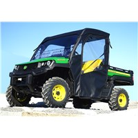 John Deere XUV 835 Full Cab with Aero-Vent Windshield