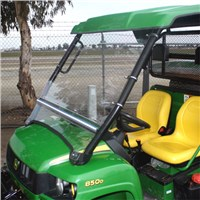 JOHN DEERE XUV 625I/825I FOLDING POLYCARBONATE WINDSHIELD