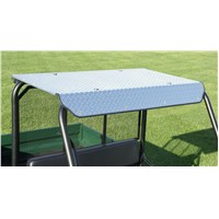 ALUMINUM DIAMOND PLATE HARD TOP