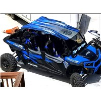 2015-18 RZR 4 Blue Printed Polycarbonate Roof