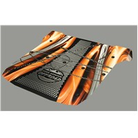 Polaris RZR 1000 XP UV Printed Polycarbonate 2 piece Roof Orange Chain