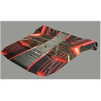 Polaris RZR 1000 XP UV Printed Polycarbonate 2 piece Roof Red Chain