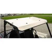 Polaris Ranger 150 Natural Aluminum Diamond Plate Roof