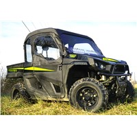 TEXTRON STAMPEDE FULL CAB WITH AERO-VENT WINDSHIELD
