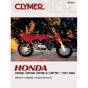 Honda XR50R CRF50F XR70R CRF70F Service Manual on