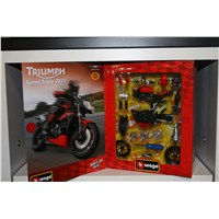 Speed Triple 1:18 Scale Model - Red