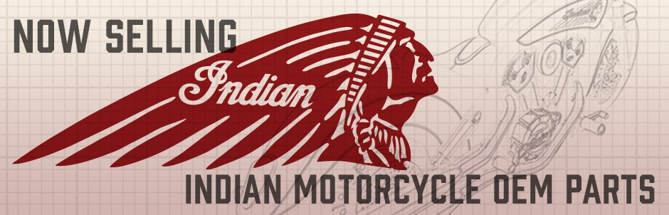 Now Selling Indian Motorcycle Parts