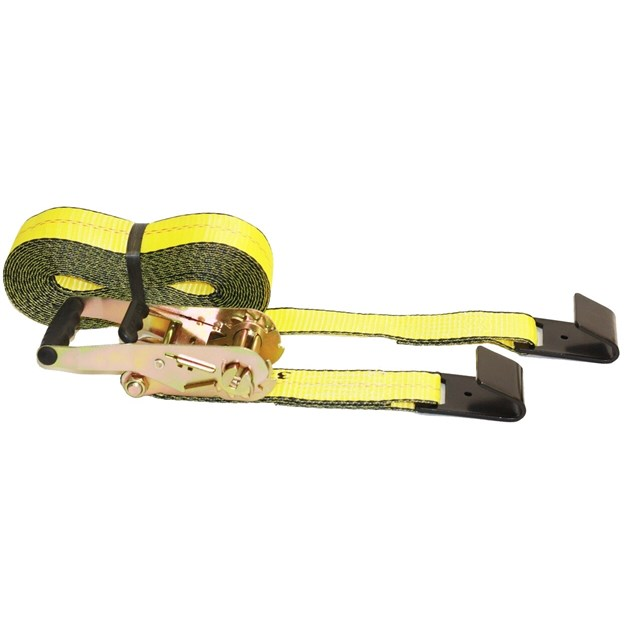 "Ratchet Straps 2"" x 30' Ratchet Strap w/ Flat Hook"