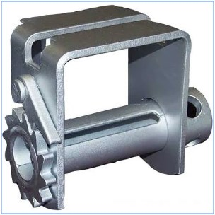 Double L Slider, Chromate Coated Winch