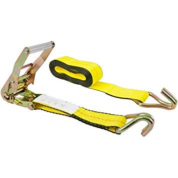 2 in. x 30 ft. Ratchet Straps with Wire Hook