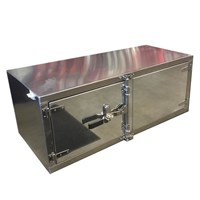 Aluminum Double Door Cam Lock Toolbox