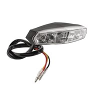 BikeMaster Mini-LED Taillight with License Plate Light