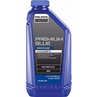 SNOW SNOWMOBILE PREMIUM BLUE SYNTHETIC BLEND 2-CYCLE OIL