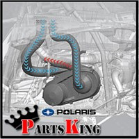 Polaris High Flow Clutch Intake Kit for sale.