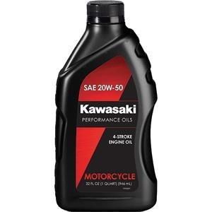 KAWASAKI PERFORMANCE 4-STROKE ENGINE OIL, 20W50