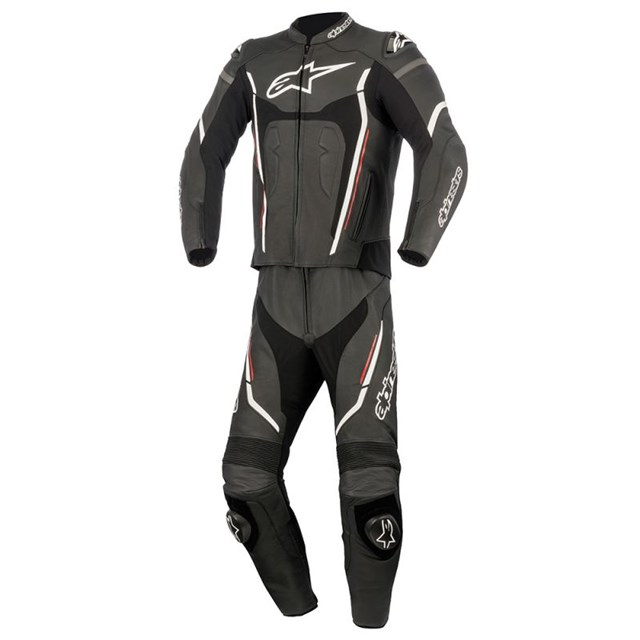 Alpinestars Motegi Two-Piece Leather Suit v2 Black
