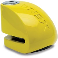 "XENA XX10 ALARM DISC LOCK 3.3"" X 2.4"" (YELLOW)"