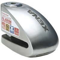 "XENA XX10 ALARM DISC LOCK 3.3"" X 2.4"" (STAINLESS STEEL)"